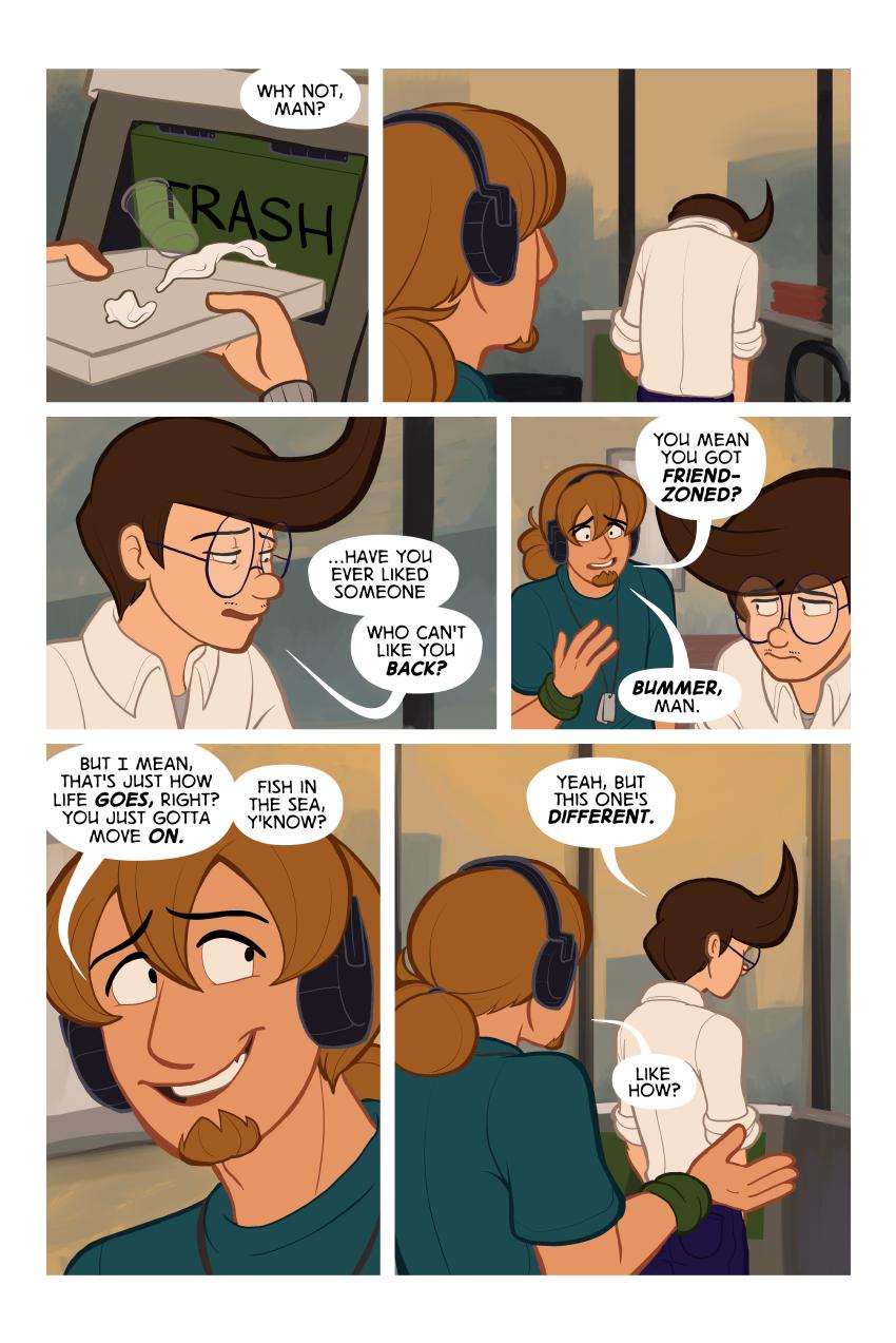 Panel 1 -  A summary of Carl's life.