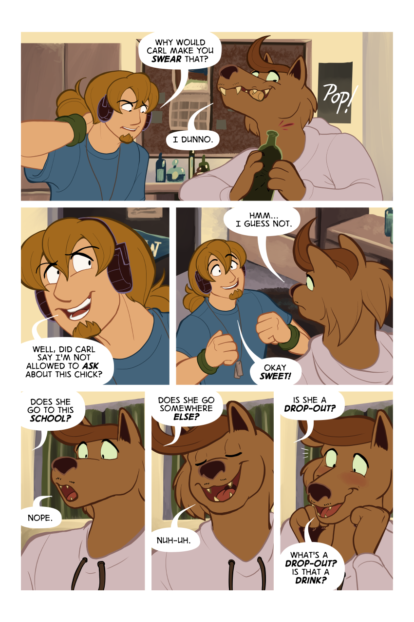 If you give a werewolf an alcohol addiction...